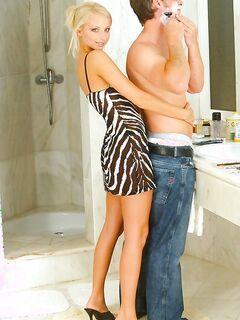 Ванная и секс - совместили приятное с полезным