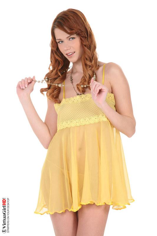 Магическое прозрачное платье