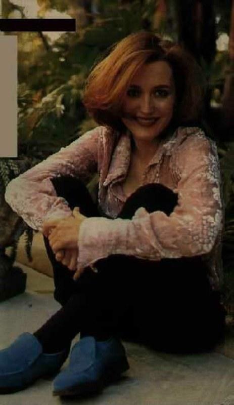 Привлекательная и очаровательная Джиллиан Андерсон