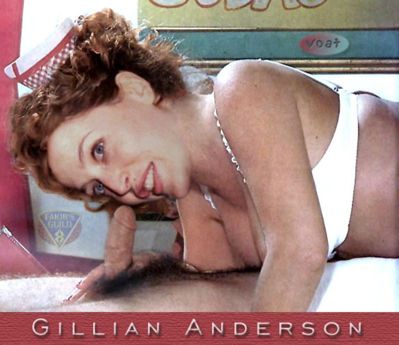 Джиллиан и частные порно-фото