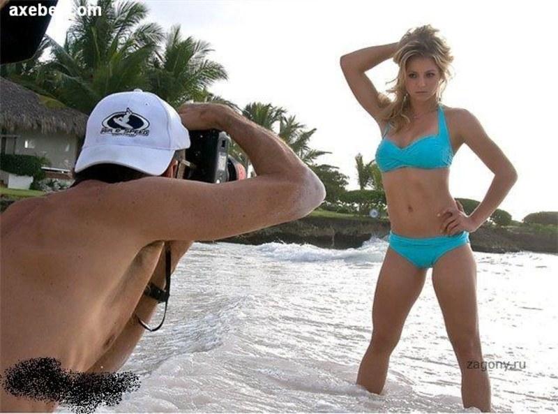 Спортсменка и модель