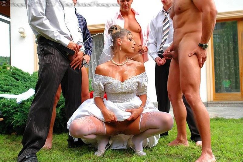 Свадьба в полном разгаре